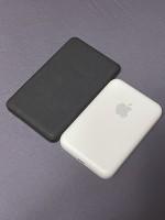 Comparaison de la taille avec la batterie Mophie MagSafe