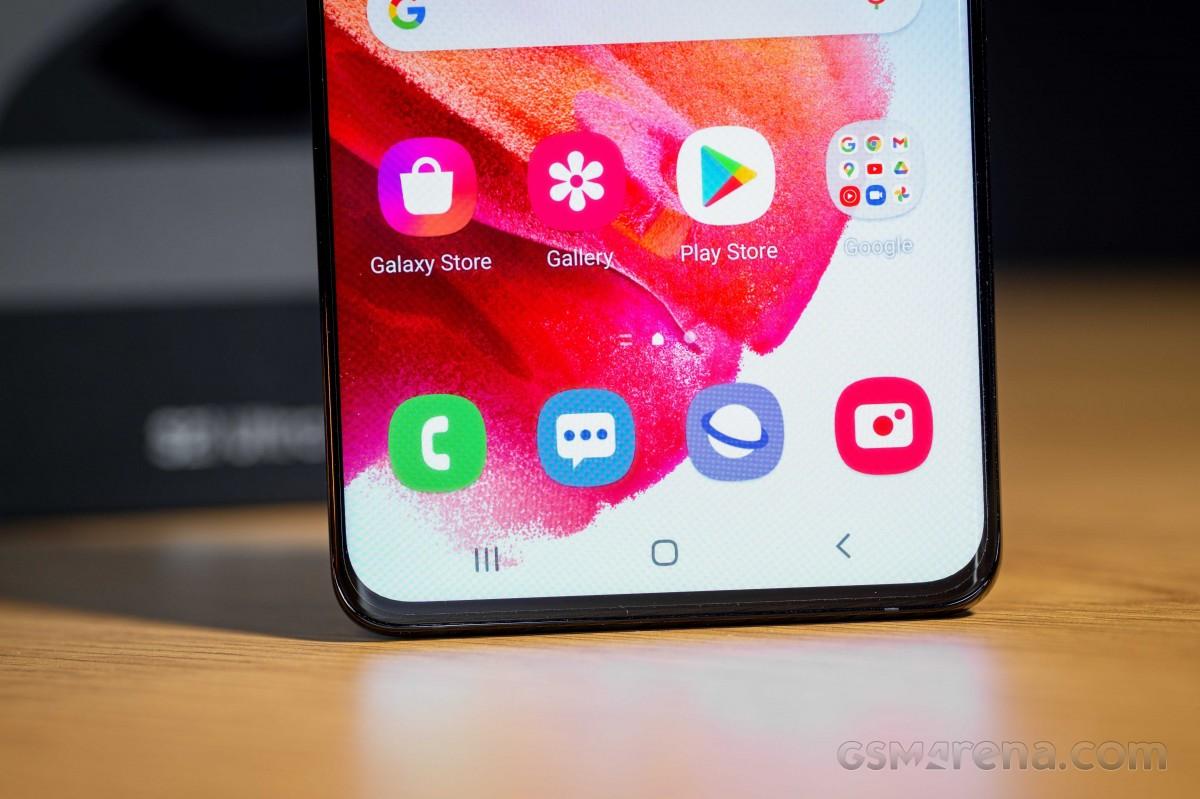 Galaxy Store on Samsung Galaxy S21 Ultra