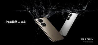 Both P50 models have stereo speakers and IP68 dust and water resistance