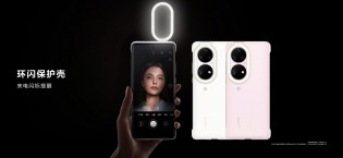 Huawei P50 cases: ring light