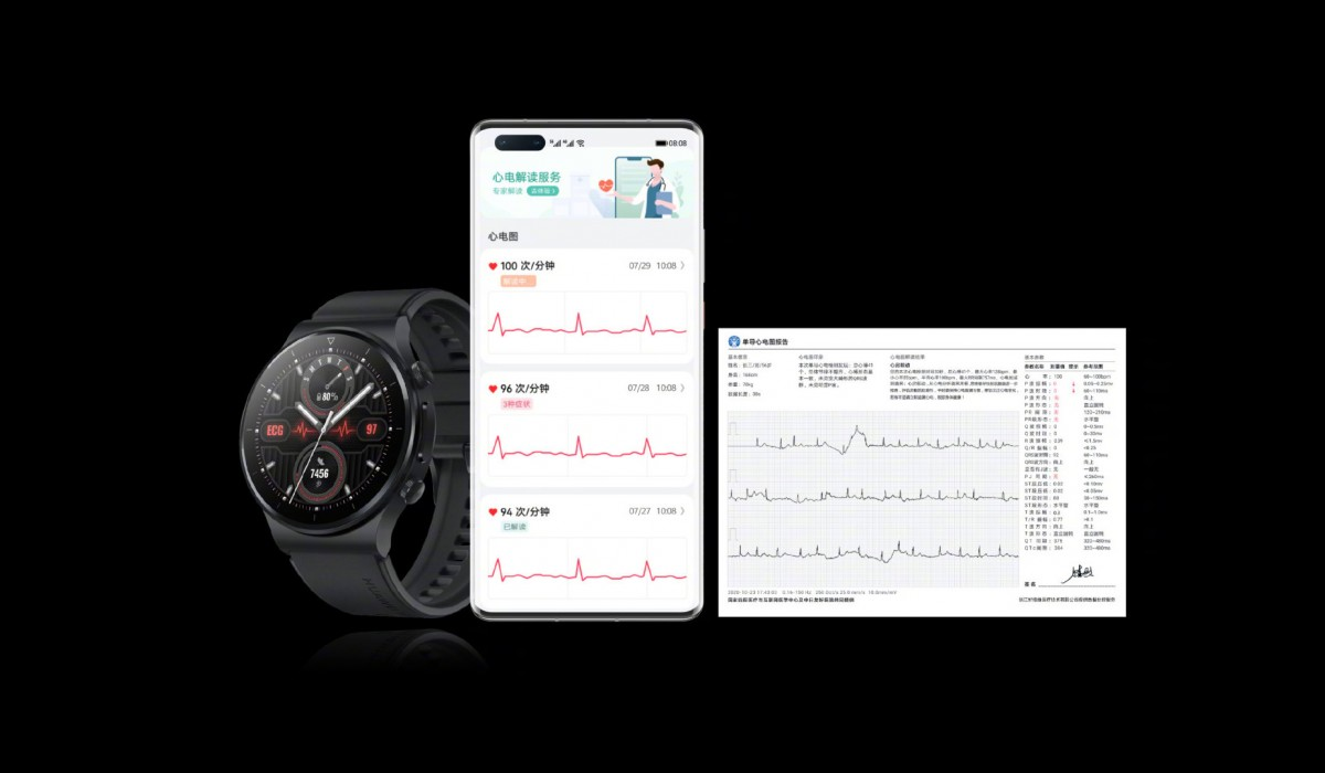 Huawei Watch GT 2 Pro ECG and Band 6 Pro announced