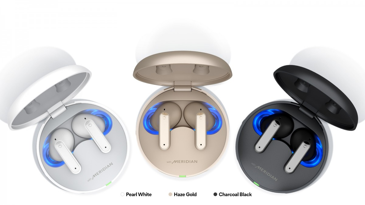 LG brings three new Tone Free earbuds with ANC, UV self-cleaning