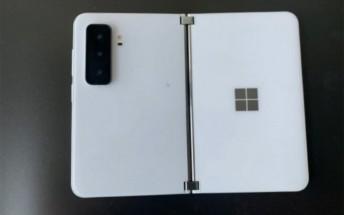 Microsoft Surface Duo 2 leak shows triple camera setup
