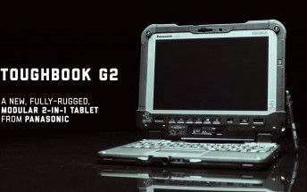 Panasonic announces 2-in-1 Toughbook G2 with 18.5h battery life and modular accessories