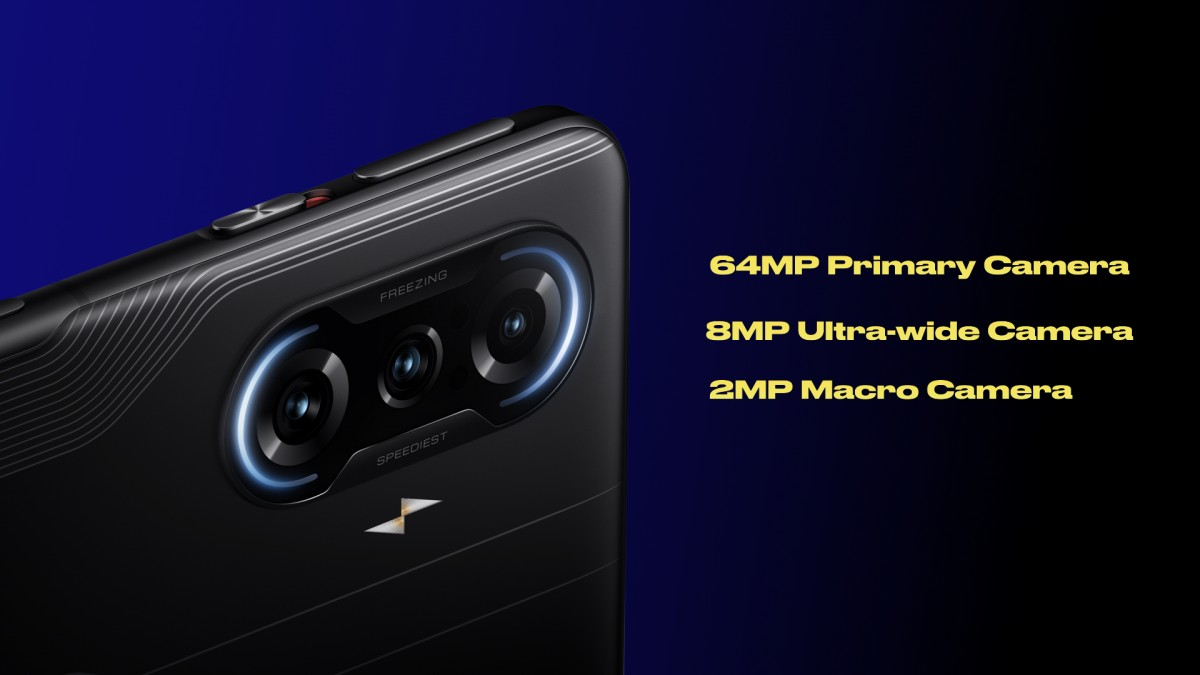 Poco F3 GT announced with Dimensity 1200, maglev triggers and 67W charging