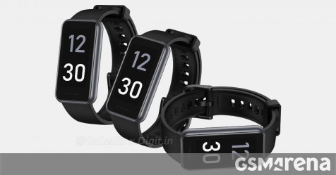 Realme Band 2 renders show 1.4-inch screen, refined design thumbnail