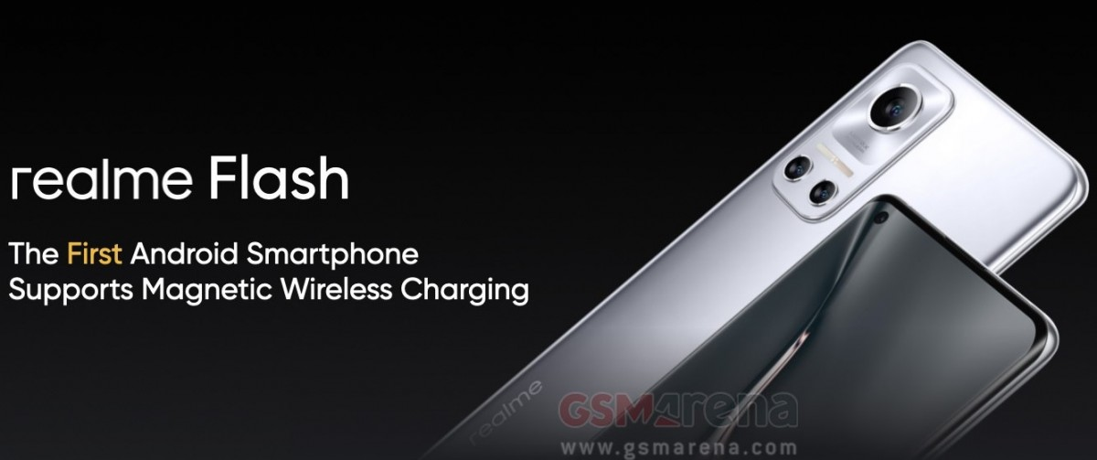 Realme Flash teased as world's first Android phone with Magnetic Wireless Charging