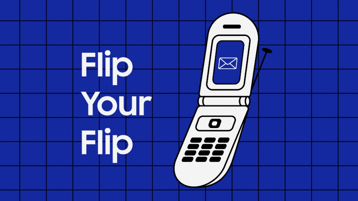 Samsung offers $125 discount on the Galaxy Z Flip 5G for trading in an old flip phone