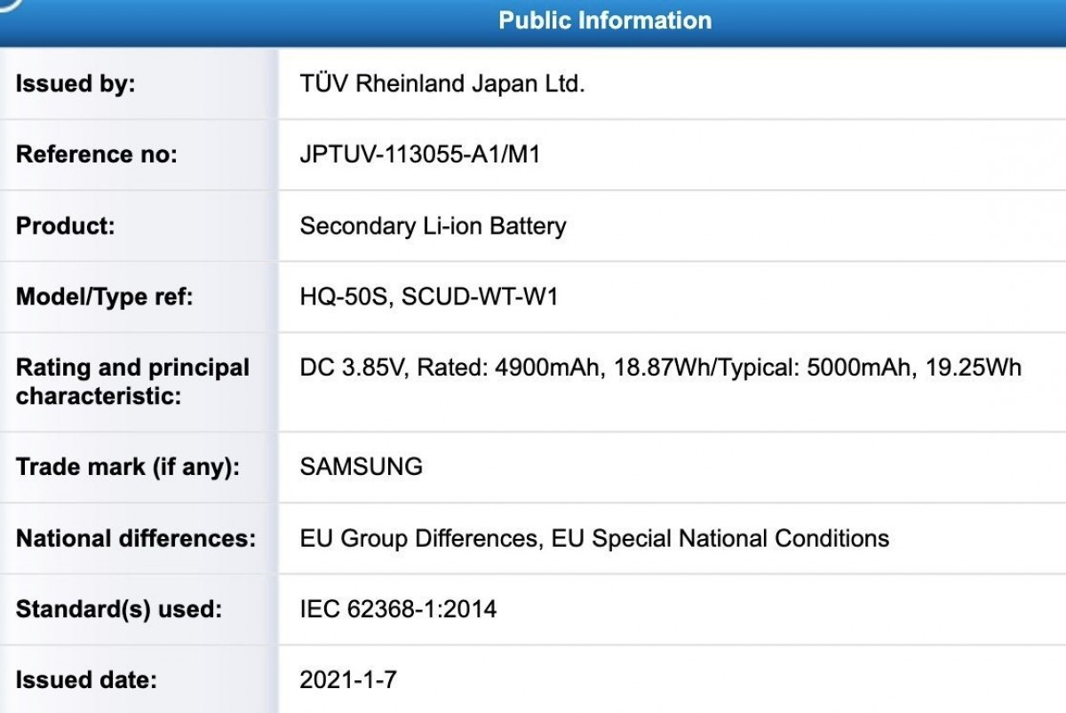 Samsung Galaxy A03s gets the FCC green light, reveals battery capacity