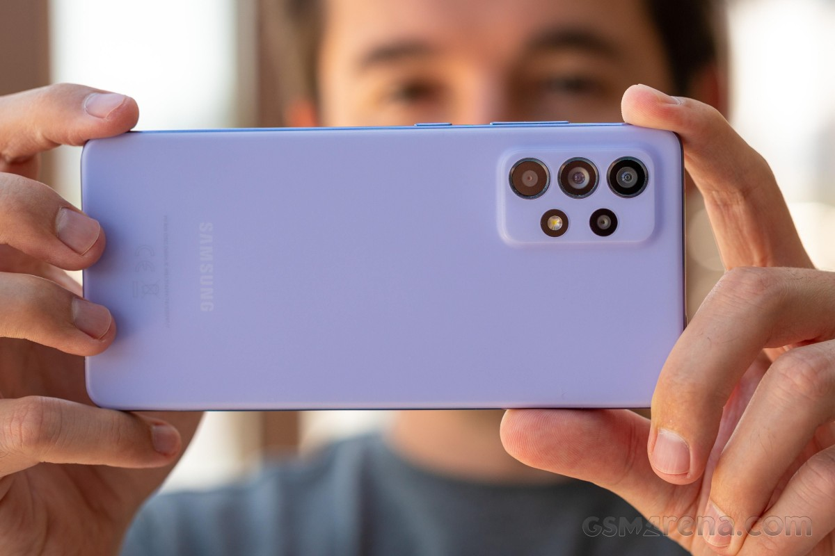 Samsung Galaxy A52 5G in for review