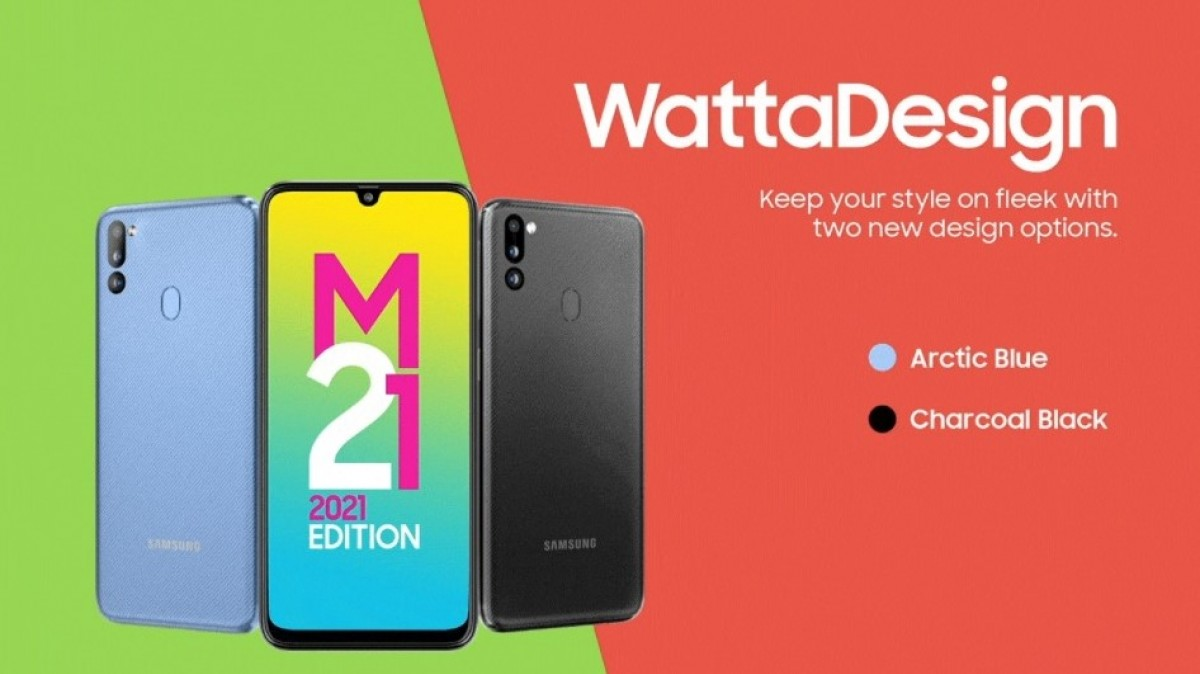 Samsung Galaxy M21 2021 Edition is arriving on July 21, design and specs  revealed - GSMArena.com news