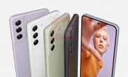 Samsung Galaxy S21 FE 5G's leaked poster shows the phone in multiple colors