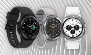 Samsung Galaxy Watch4 Classic spins around in rendered clips