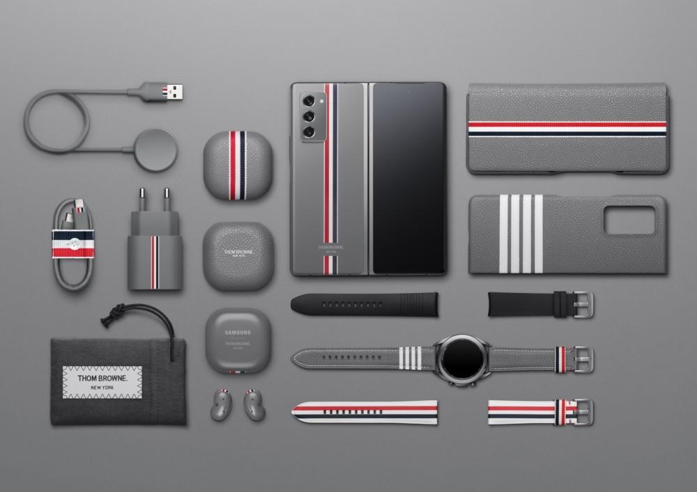 Paquete de edición limitada Thom Browne para Samsung Galaxy Z Fold2