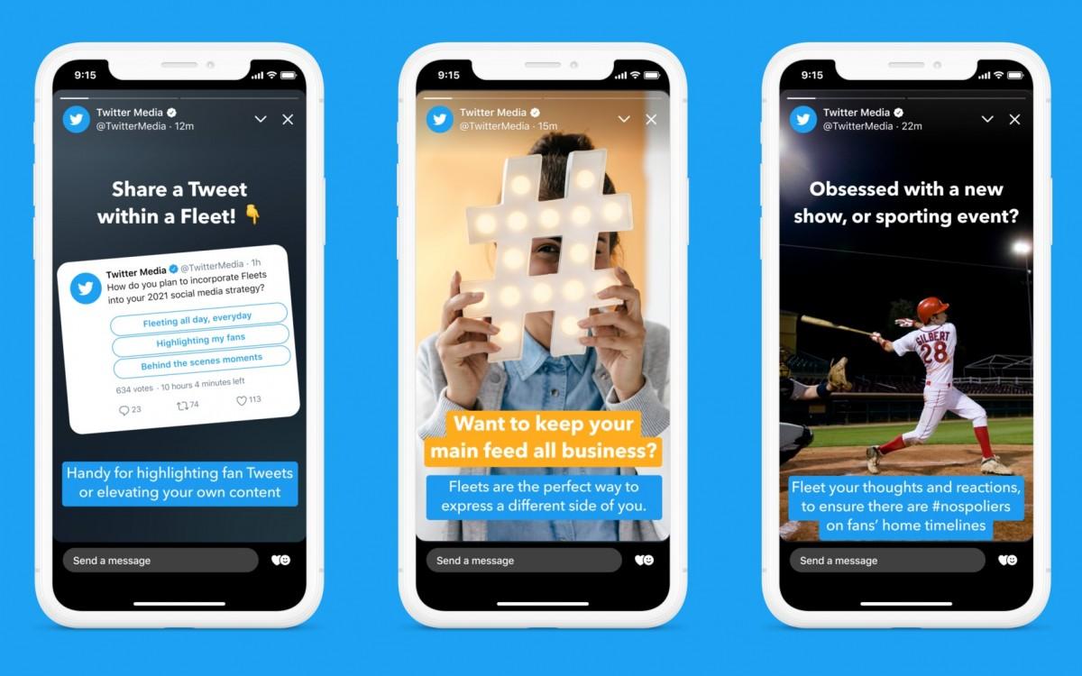 Twitter kills Fleets, its version of Stories