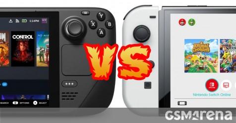 Weekly ballot: Nintendo Change OLED vs. Valve Steam Deck