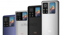 Xiaomi Mi Mix 4 muestra una pantalla secundaria en la parte posterior