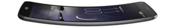 The LG G Flex was curved the like a banana