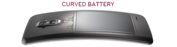LG developed a curved, flexible battery for the G Flex