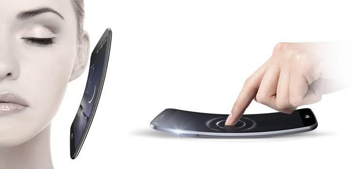 Curved phones have advantages when it comes to ergonomics