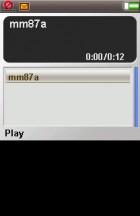 Music player (with flip opened/closed) - Flashback: Sony Ericsson P910