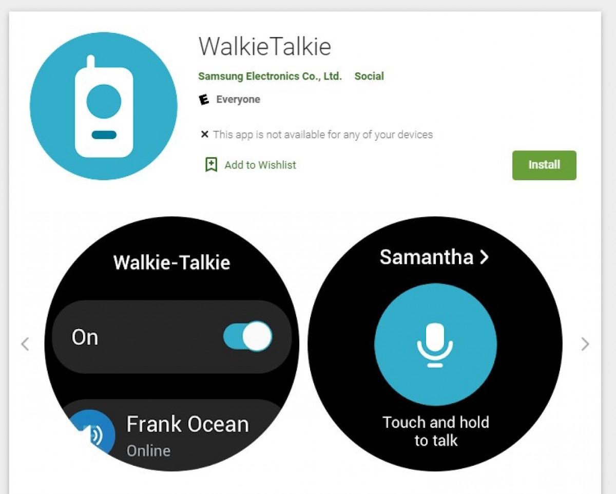 Samsung Galaxy Watch4 and Watch4 Classic get walkie-talkie app