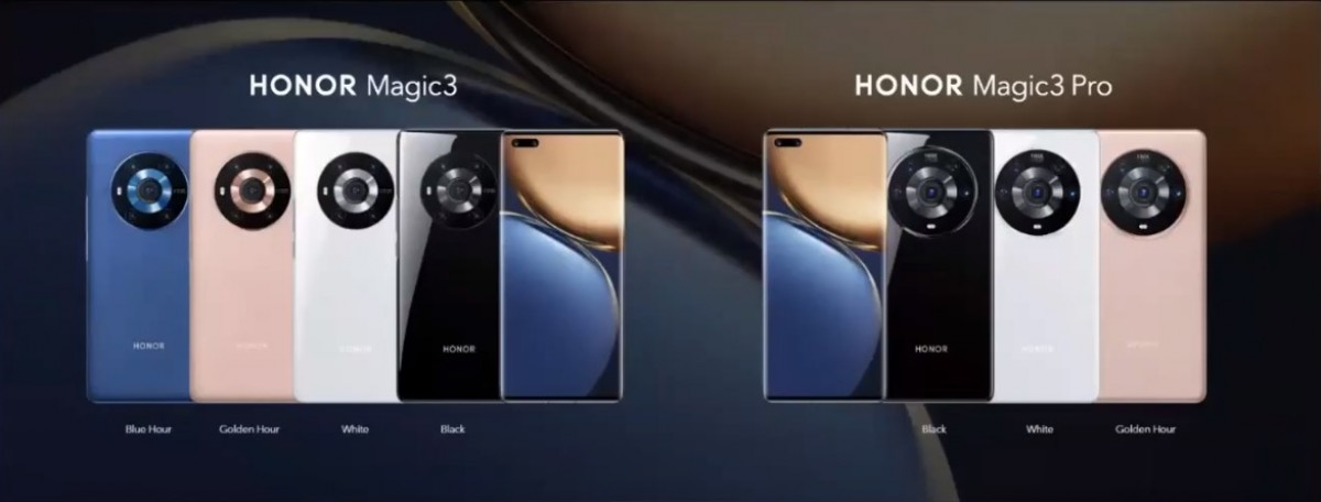 Honor Magic3 and Magic3 Pro bring SD 888+ IMAX cinematic video recording and 66W charging