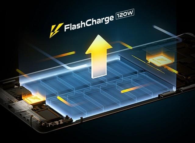 120W charging