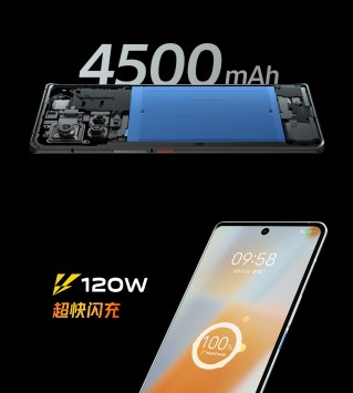 iQOO 8 Pro battery and charging