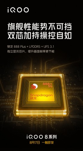 Snapdragon 888 Plus poster