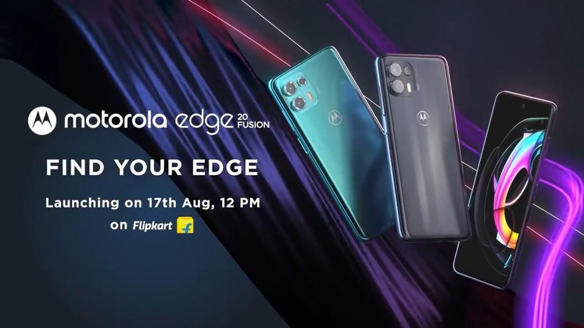 Les spécifications du Motorola Edge 20 Fusion dévoilées avant le lancement du 17 août