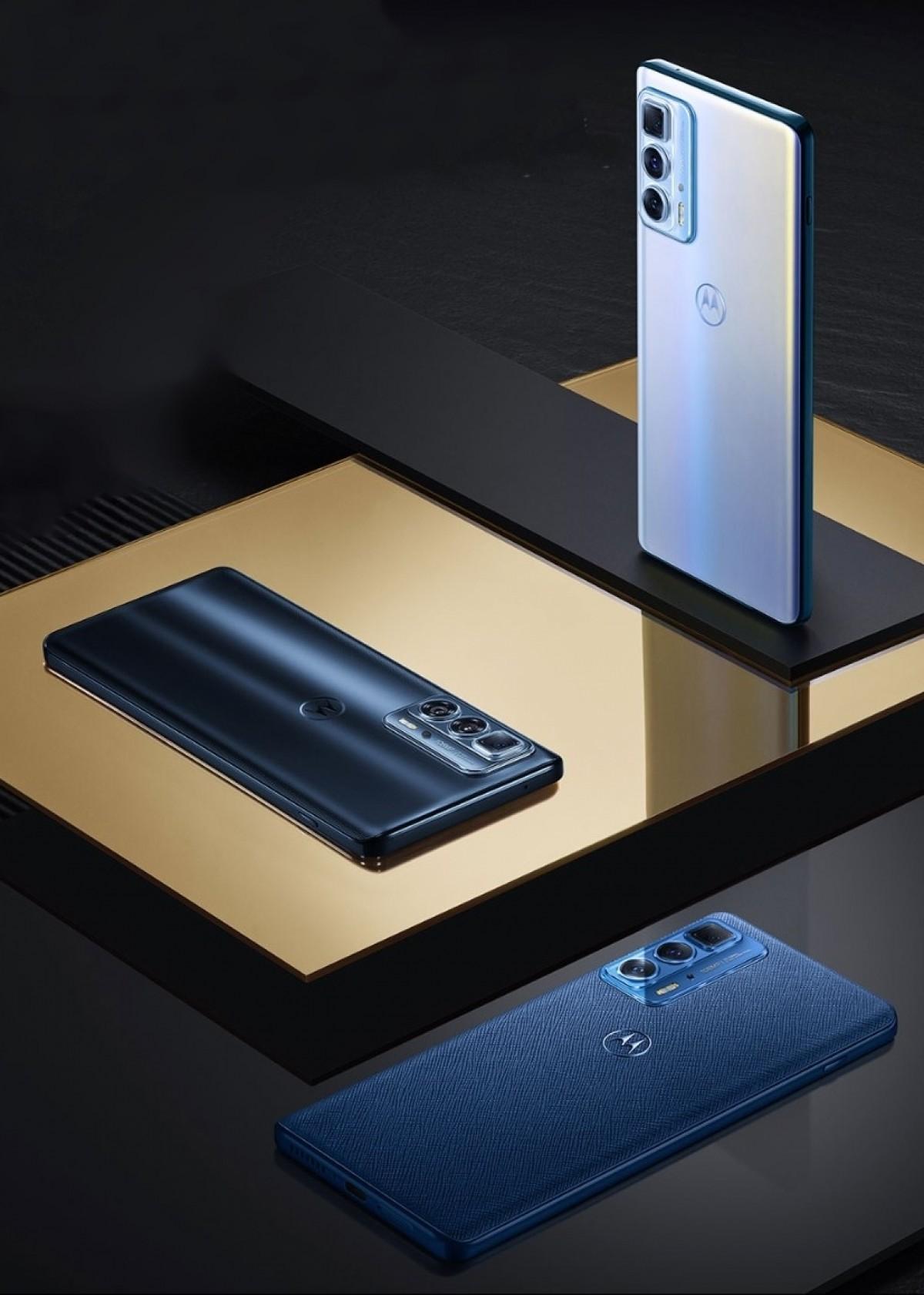 Motorola Edge S Pro is official, it is a renamed Edge 20 Pro