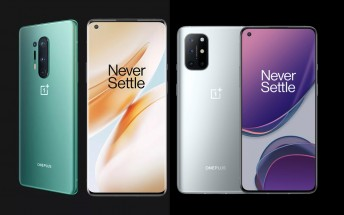 OnePlus 8, 8 Pro and 8T get Buds Pro support, August security patch with latest update