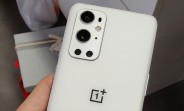 Pure White OnePlus 9 Pro live image surfaces