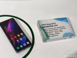 The Oppo MagVOOC power bank