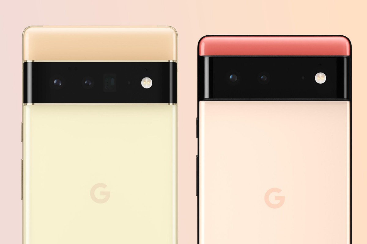 Google Pixel 6 and 6 Pro to use Samsung GN1 50MP sensor