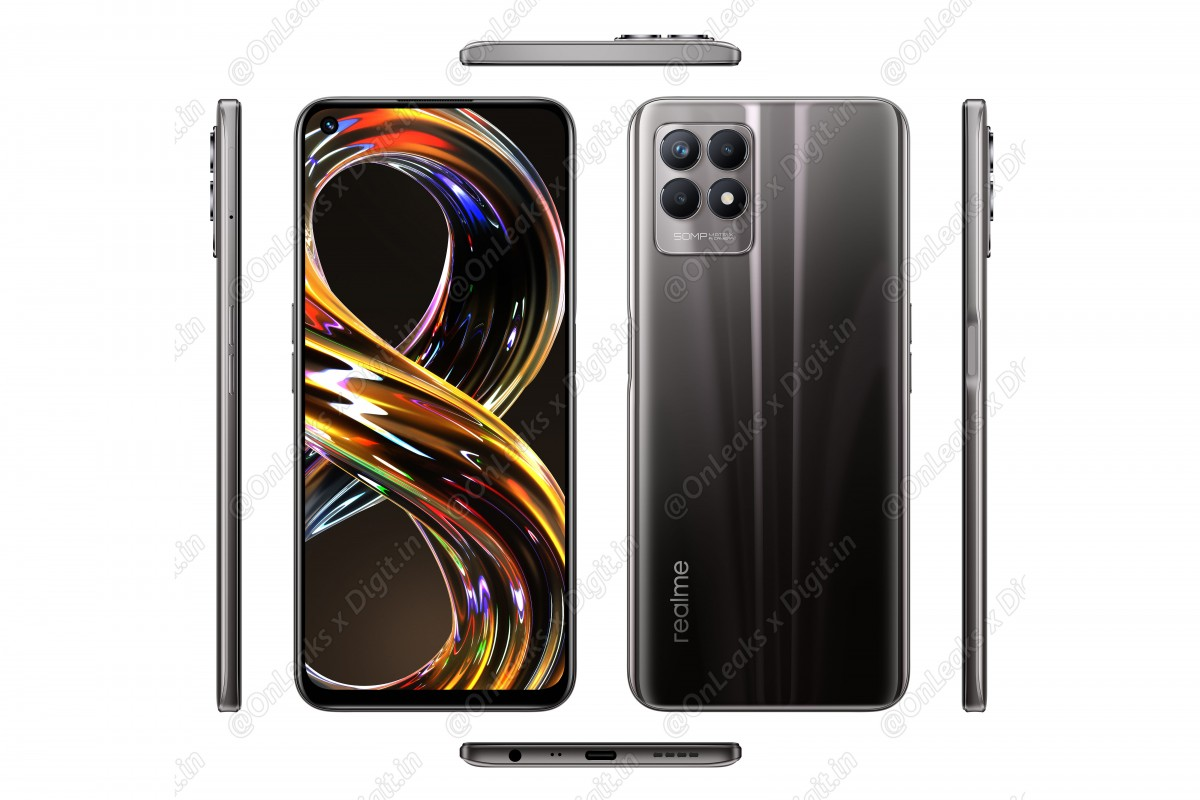 Realme 8i leaks in official-looking renders, main specs outed too