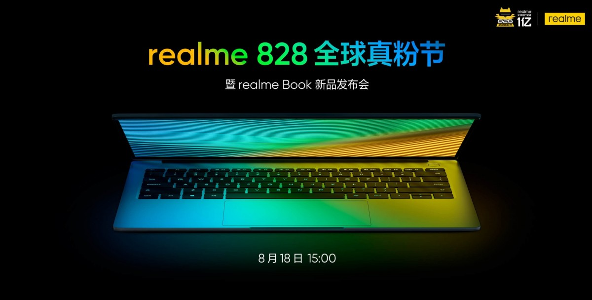 Realme Book is coming on August 18 with MacBook Air-like design