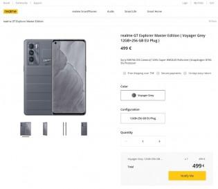 Realme GT Master Explorer leaked price
