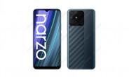 Realme Narzo 50A renders surface revealing unique back design