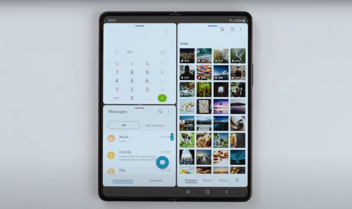 The Samsung team explains how the Galaxy Z Fold3 and Z Flip3 interface was improved