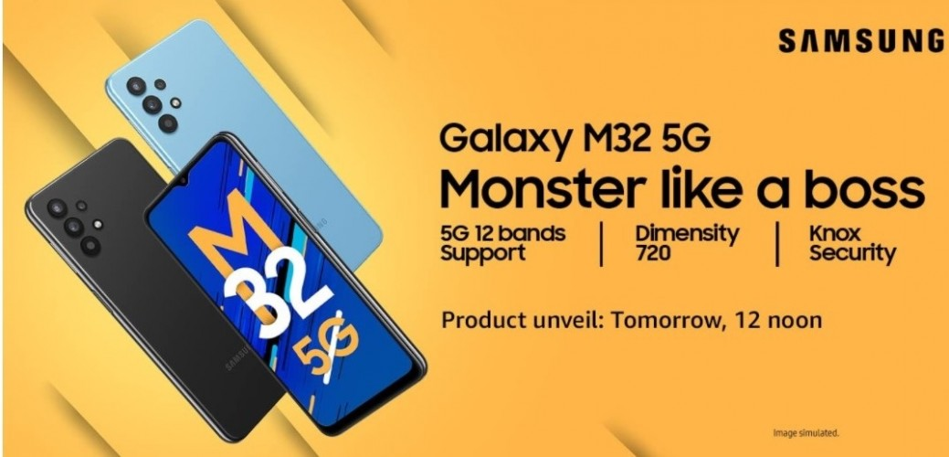 Samsung Galaxy M32 5G to be priced under $340 in India