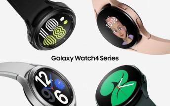 Samsung Galaxy Watch4 series gets its first software update
