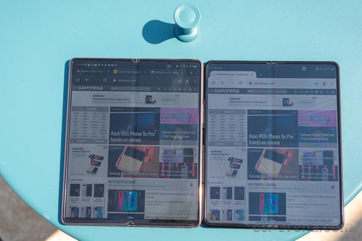 Samsung Galaxy Z Fold3 5G per la revisione