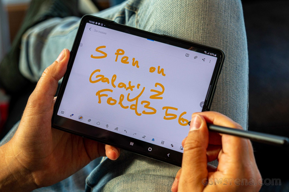 Samsung Galaxy Z Fold3 does not work with old S Pens