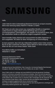 Samsung Germany warns that some Galaxy Z Fold3 and Watch4 Classic pre-orders have been delayed
