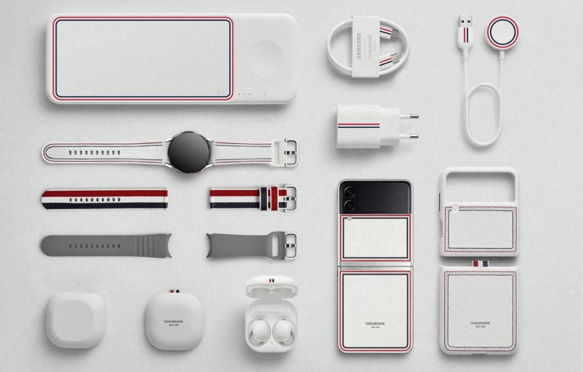 Samsung reveals Thom Browne edition Galaxy Z Fold3, Z Flip 3, and Watch4 Classic