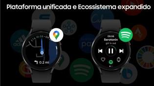 Galaxy Watch4 series: Google Maps on board
