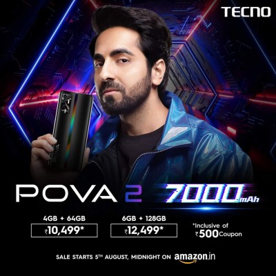 Tecno Pova 2 launch details