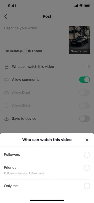 New privacy features